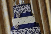 For Anne / Cobalt Blue Accented Wedding