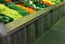 Potager Gauvin / La ferme maraîchère, Potager Gauvin, offre un grand choix de légumes, fruits et petits-fruits de saison. On peut aussi cueillir dans les champs une grande variété de fruits et légumes (tomates, fèves, concombres, piments, fraises, framboises, etc.).