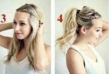 Hair and hair tutorials