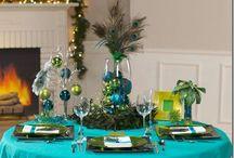 2012 Xmas tea table