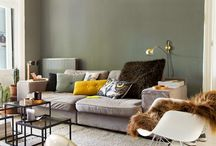 Color palette - green/grey/yellow - - -