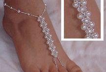 biżuteria na stopy
