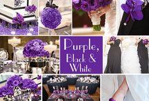 Black, white & purple theme