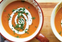Soups to Slurp / Make a little noise. We don't mind. These healthy soups are worth it.