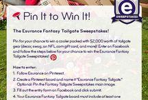 Esurance Fantasy Tailgate / #EsuranceFantasyTailgate
