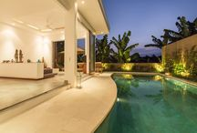 Gajah Villas Bali / GAJAH VILLAS BALI are a complex of two separated twin villas with 2 (two) bedrooms, facilities with its own private tropical swimming pool overlooking the rice field view and gardens.  They are the only villas in SEMINYAK area to have the exclusive advantage of being able to enjoy the stunning RICE FIELD VIEW surrounding the pool side.