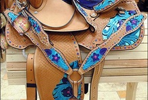 Saddles and tack / by Kinlee Adame