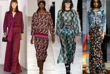Winter  PRINTS / FW1617 Fall Winter 2016 2017 Fashion Trends Prints