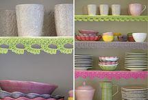 ✿ Crochet Borders ✿ / Mooie kastrandjes, randjes om kussens, etc.