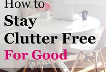 Clutter control/organizing