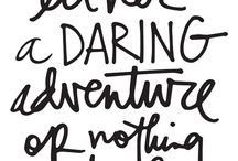 Words | Ali Edwards Script Quotes / inspirational words scripted by Ali Edwards