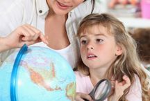 Preschool Geography Activities / Preschoolers aren't too young to learn about the states and countries that make up our world. Here are some fun preschool geography activities they're sure to enjoy!