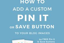 Save a pin it button and oin it