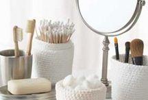 Crocheting Bathroom
