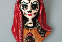 day of the dead art beelden