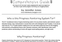 RTI and Progress Monitoring / by Quinn Breanne