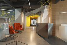 Sim Networks / Дизайн офиса для IT-компании