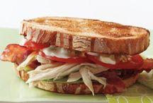 savoury sandwiches