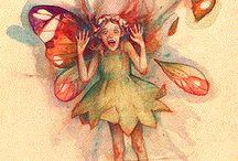 pressed fairies / by Jennifer Gordon