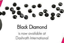 Natural Black Diamond / There are black diamonds, and there are Natural Fancy Black Diamonds
