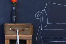chalkboard as background decoration