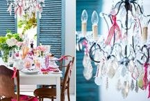 Tablescape, Table Setting, Dishes / Beautiful tablescapes and table setting with amazing dishes, plates, props.