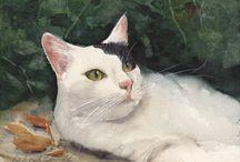 Beutiful animal paintings
