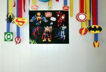 Super hero theme idea's