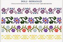 Tradional romanian motifs