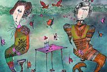 Turan, Merve / Merve Turan, Fine Art Baskı   2011'den bugüne Prof. Dr. Süleyman Saim Tekcan'ın asistanlığını yapmakta olan Merve Turan, baskı resim çalışmalarını IMOGA'da sürdürmektedir. Sanatçının, özel bir baskı tekniği olan Fine Art tekniği ile yapılmış eserleri siz sanat severler ile buluşuyor.