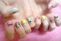 Nail art by Marty