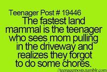 #being teenager