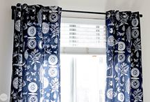 how to make  geometry curtains
