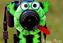 Camera scrunchie