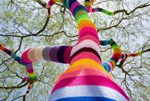 Yarn Bombing urbain