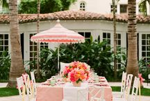 Citrus Orange + Pink Wedding Ideas