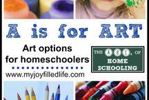 homeschool art / by Kelley Hill-Cate