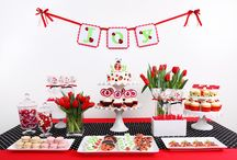 Lady Bug Themed Birthday Parties / by Project Nursery | Junior