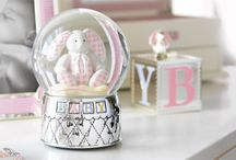 Bundle of Joy: Unique Baby Gifts / These unique baby gifts are precious and aww-worthy! They have a classic style that the new bundle of joy will be able to appreciate for a lifetime. From pewter or sterling baby cups to silver spoons, and dinnerware sets, to silver piggy banks and frames, you'll create a moment that will be a memory for the parents and an heirloom for the child. Personalized baby gifts will make your thoughtful gifts even more special. Visit the Reed & Barton website's baby section for more
