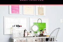Makeup Room Decor