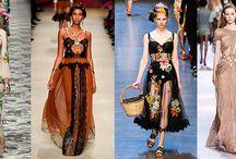 Мода, весна и лето 2016