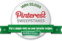 pinterest sweepstakes / by Theresa Liford
