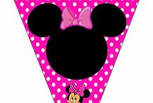 banderin minnie