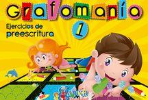 Libros para Grafomotricidad