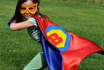 Superhero / What kid doesn't want to be their own superhero? Dressup encourages kids to use their imagination and bring out their inner superhero powers
