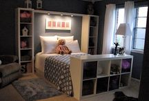 Room ideas for possible future kid rooms / by Stacey Erwell