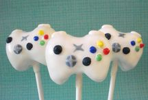 Video Game Cakes and Treats!
