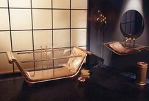 copper glass bath tub