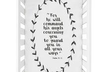 Bible Psalm 91:11 quote Crib Sheet