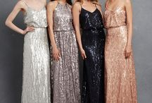 Bridesmaids / Everything Bridesmaids! From colours to styles, hair and accessories